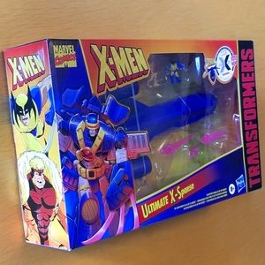 Transformers Marvel Comics X-Men Mash-Up
